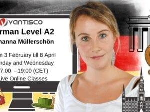 German for Level A2 with Johanna Müllerschön