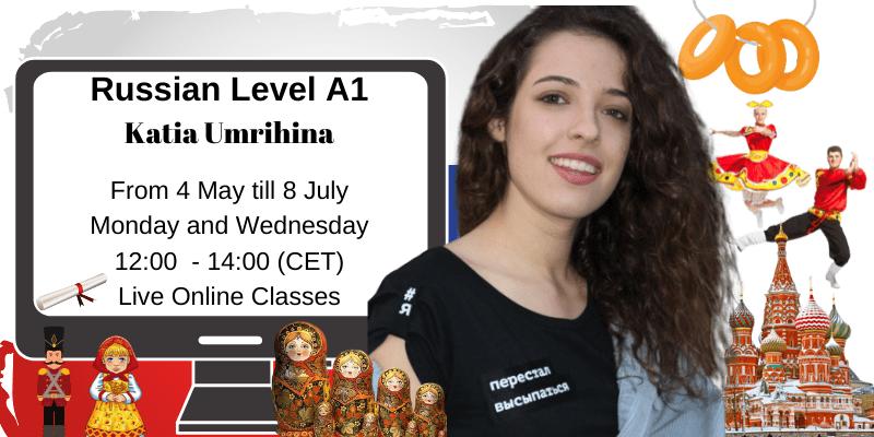 Russian Level A1 Katia Umrihina