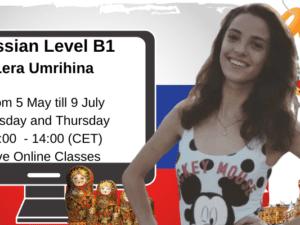 Russian Intermediate Level B1 by Lera Umrihina