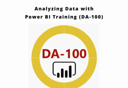 Analyzing Data with Power BI Training (DA-100)